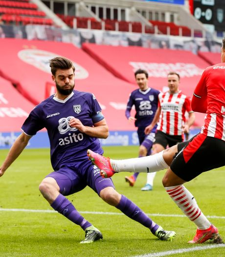 Geen bonuspunten voor Heracles in fletse en kansloze strijd tegen PSV