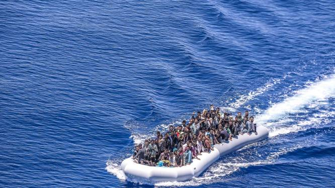 41 vluchtelingen vermist na schipbreuk op Middellandse Zee