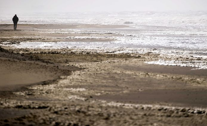 Het strand van Noordwijk