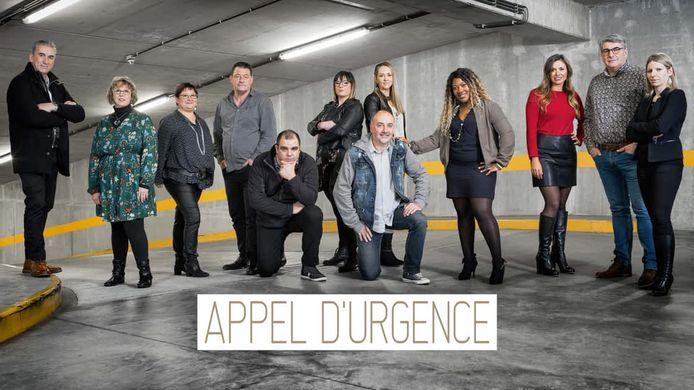 Het team van 'Appel d'urgence'