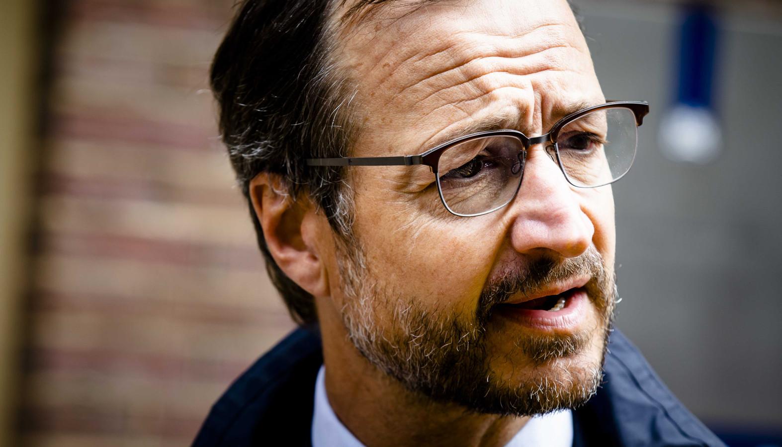 Minister Eric Wiebes van Economische Zaken en Klimaat (VVD)