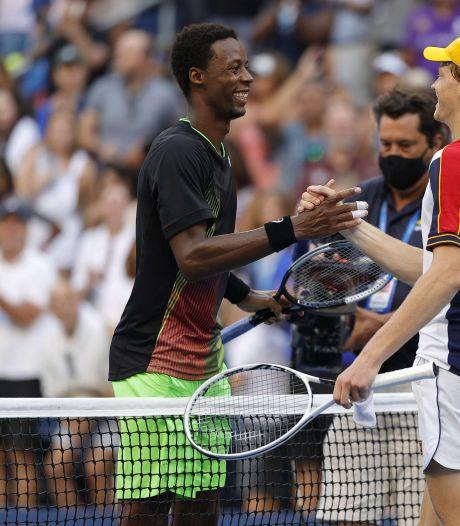 Sinner écarte Monfils au terme d'un somptueux duel, Djokovic lâche un set puis déroule