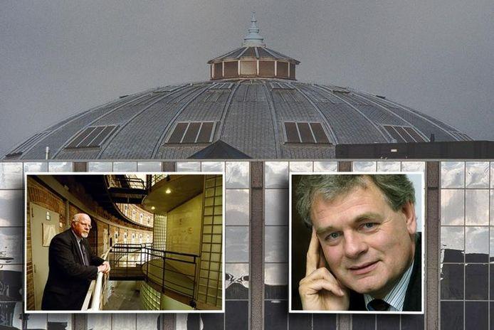 De Koepel in Breda. Inzet: Bart Molenkamp, oud-directeur van De Koepel (links) en advocaat mr. Menno Buntsma.archieffoto's BN/DeStem