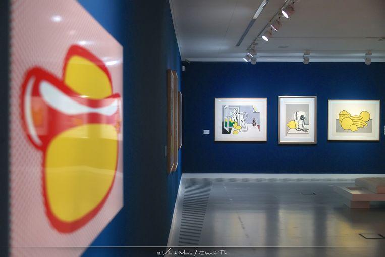 Roy Lichtenstein in Mons. Beeld Ville de Mons / Oswald Tlr