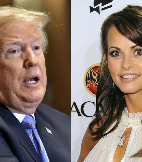 Trump noemt opnames over betalingen aan Playmate 'mogelijk illegaal'