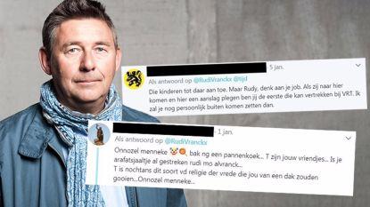 """""""Dit jaar al veelvoud aan twitterhaat"""": Rudi Vranckx gaat voor het eerst accounts blokkeren"""