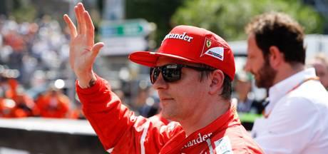 Räikkönen: Twee Ferrari's vooraan, beter kan niet