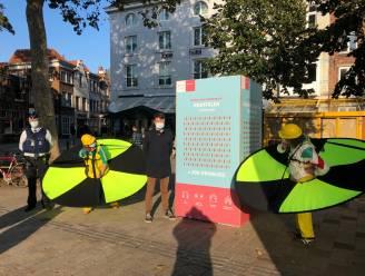 'Afstandsambtenaren' checken in Brugge of je de regel van 1,5 meter goed volgt