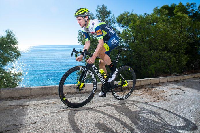 Wesley Kreder uit Zevenhuizen staat komende zaterdag in Turijn aan het vertrek van de Giro d'Italia. Nooit eerder reed hij een grote ronde.