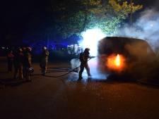 Brand in geparkeerde bestelbus in Nieuwegein