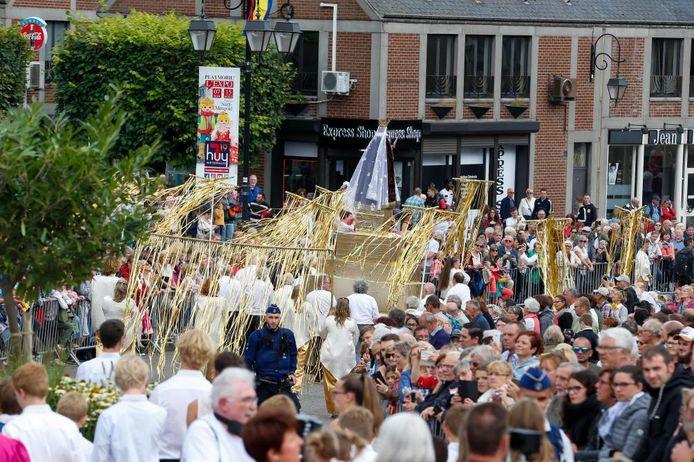 Festivités du 15 août, à Huy.