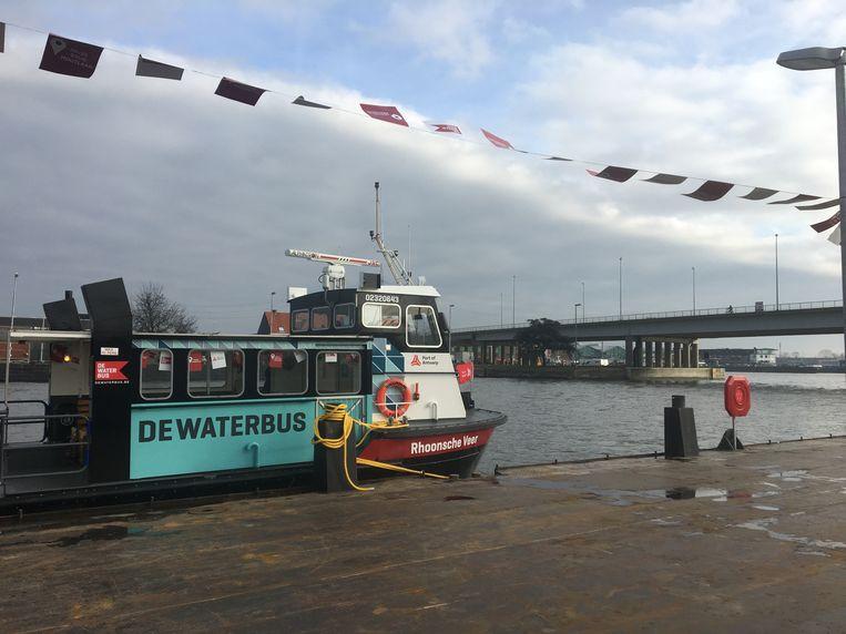 Nu Ook Vanuit Schoten En Wijnegem Met De Waterbus Naar T