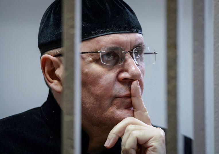 Titijev was het hoofd van de mensenrechtenorganisatie Memorial. Beeld REUTERS
