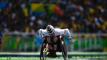 Peter Genyn grijpt net naast nieuwe wereldtitel op 100 meter