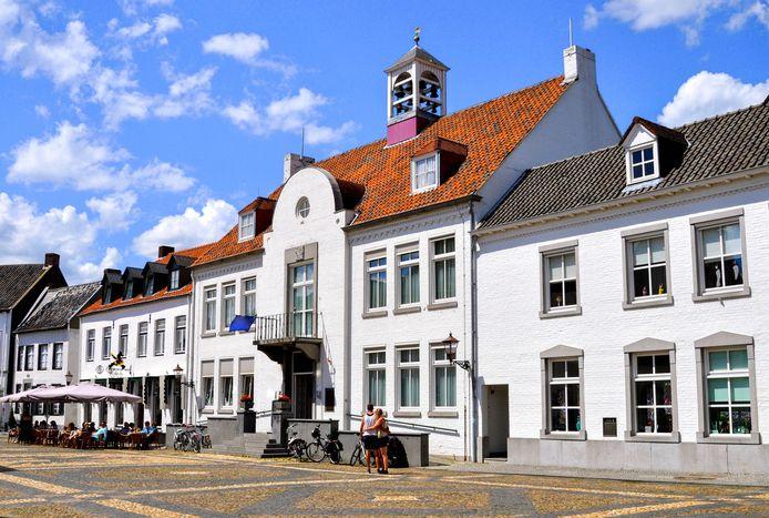 Het 'witte plaatsje' Thorn in Limburg is geliefd bij toeristen.
