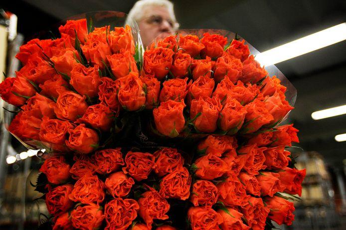 Nabestaanden van een patIënte van het Beatrixziekenhuis lieten honderden rozen bezorgen (foto ter illustratie).