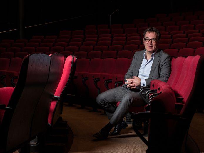 Hilko Folkeringa is directeur van het Stadstheater, een van de basisinstellingen die met de gemeente samenwerkt.