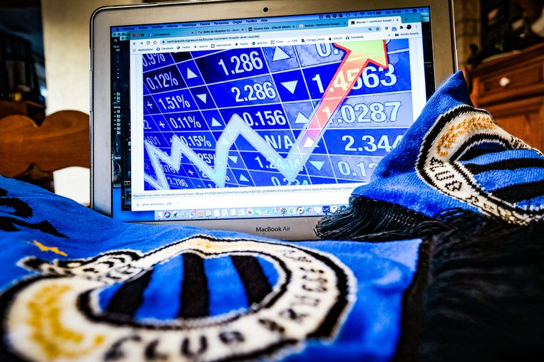 Club Brugge zou zich klaarmaken om de beurs op te gaan.  Beeld BELGA