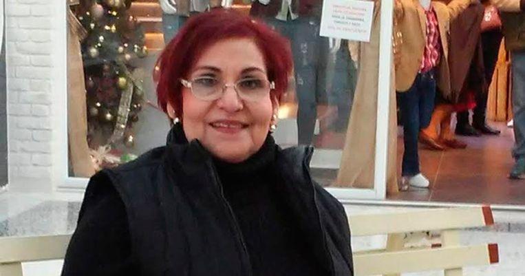 De Mexicaanse mensenrechtenactiviste Miriam Rodríguez. Beeld EPA