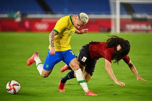 Ajax-aanvaller Antony kon zijn stempel lange tijd niet drukken in de finale, tot de verlenging.