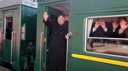 Kim Jong-un reist 4.500 kilometer met gepantserde trein voor topontmoeting met Trump