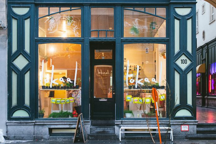 Lokaal is één van de twaalf Gents zaken die genomineerd werden voor een Belgian Vegan Award.