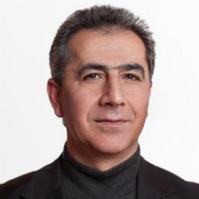 Het opgestapte raadslid Cemal Yildirim uit Zwolle.
