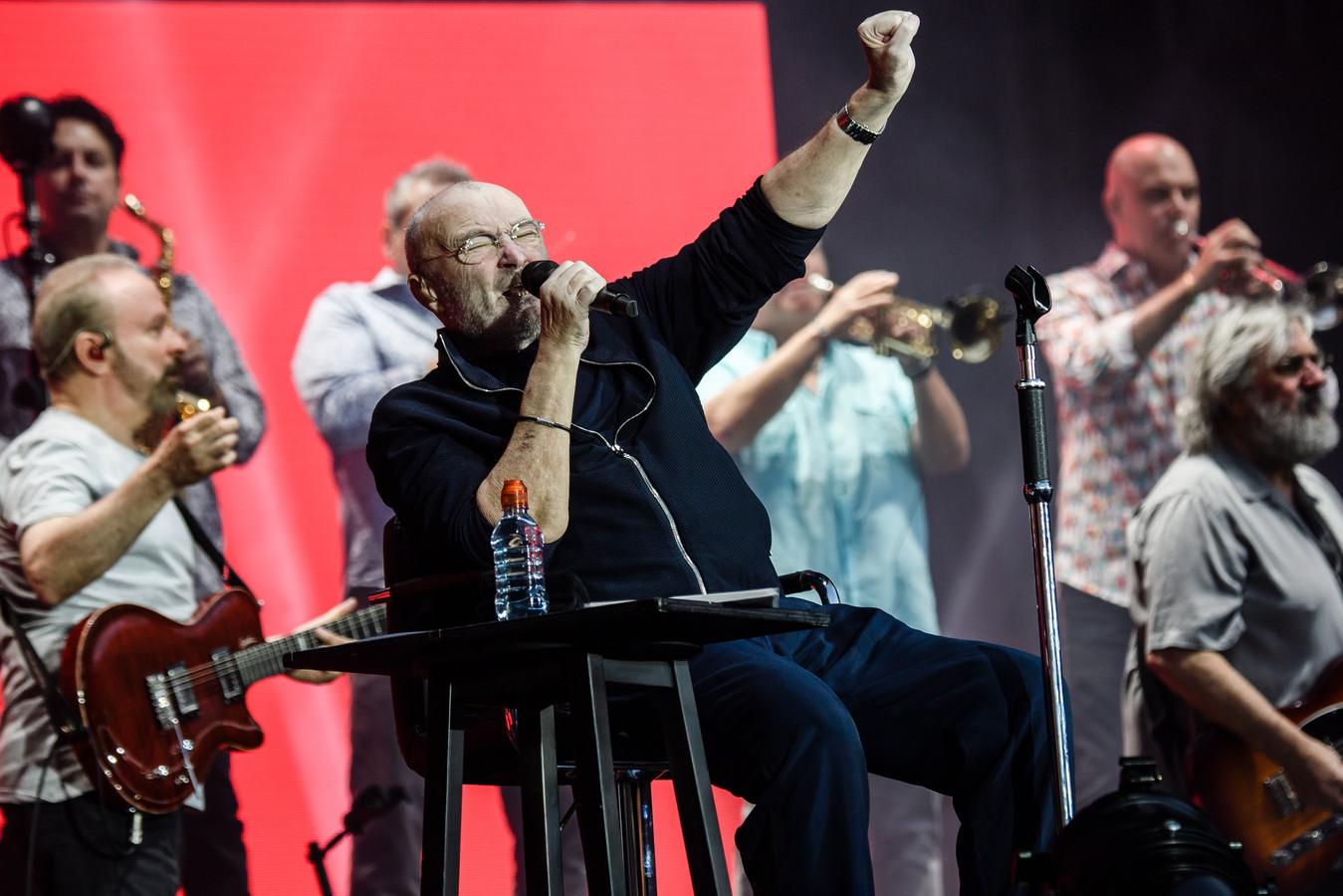 Phil Collins gaf eerder deze maand een concert in Berlijn.