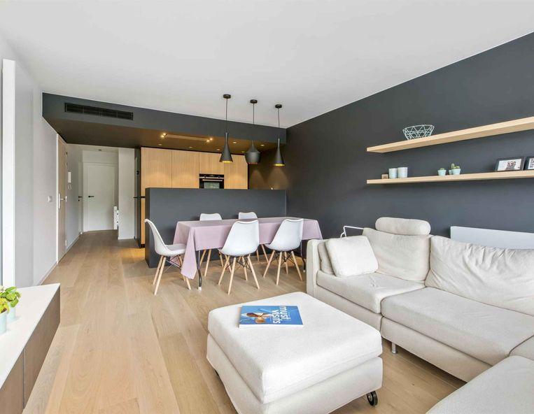 Sint-Idesbald, gelijkvloers, 2 slaapkamers, 69 m². 280.000 euro.