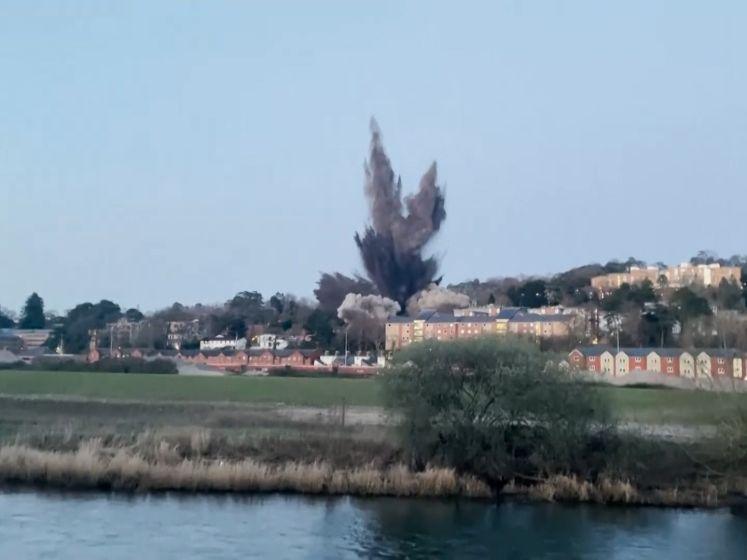 Bom uit de Tweede Wereldoorlog beschadigt heel wat huizen