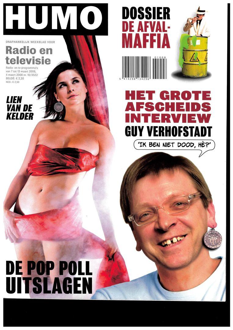 Humo cover maart 2008 Beeld Humo