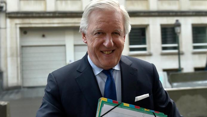 Daniel Bacquelaine, ministre des Pensions