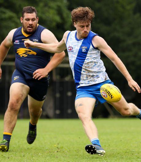 Celino Davidse speelt ook Australian Football: 'Ik sprong als een luipaard op iemands rug'