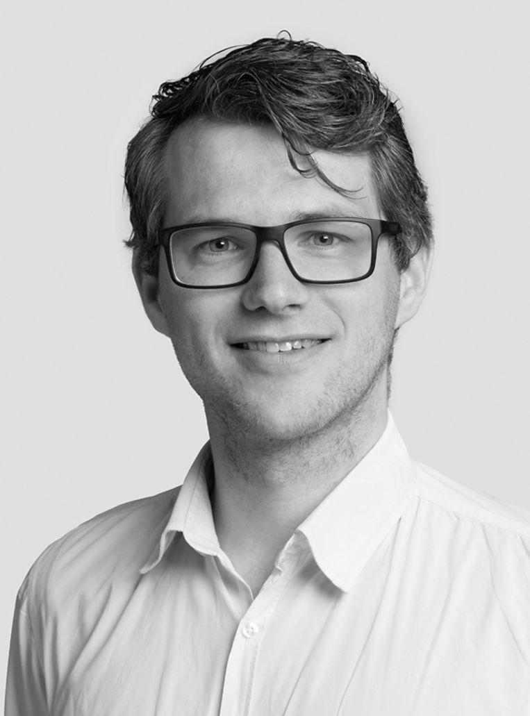Willem van Sermondt is projectadviseur bij Kansfonds. Beeld Foto: Norbert Waalboer Fotografi