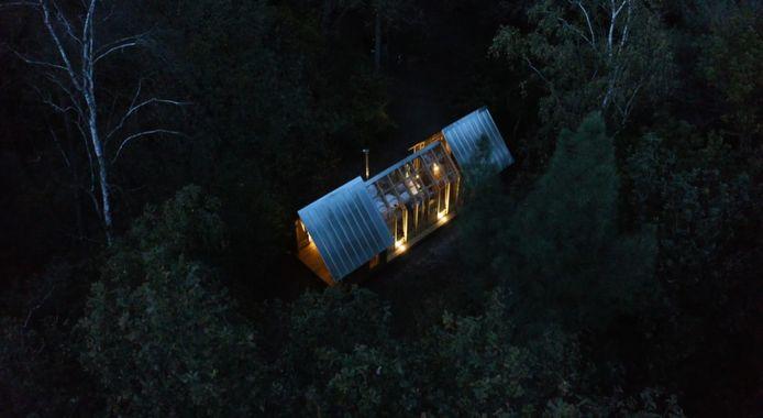 Still uit video van camping Hartje Groen