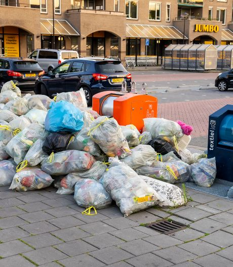 Raad Oss is rotzooi bij plasticcontainers beu
