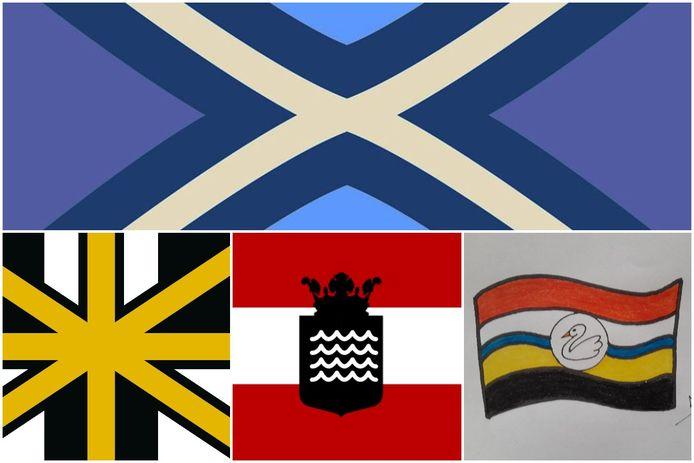Zo kan de Liemerse vlag eruit komen te zien! Meer inzendingen zie je onderin het artikel.