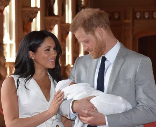 Meghan, Harry et le petit Archie