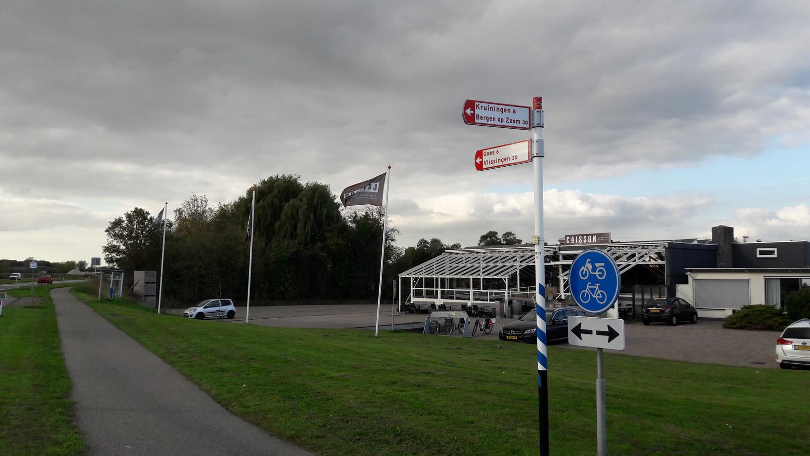 Voorlopig is het nog onduidelijk of er 150 Oostblokkers komen wonen naast de Caisson in Biezelinge.