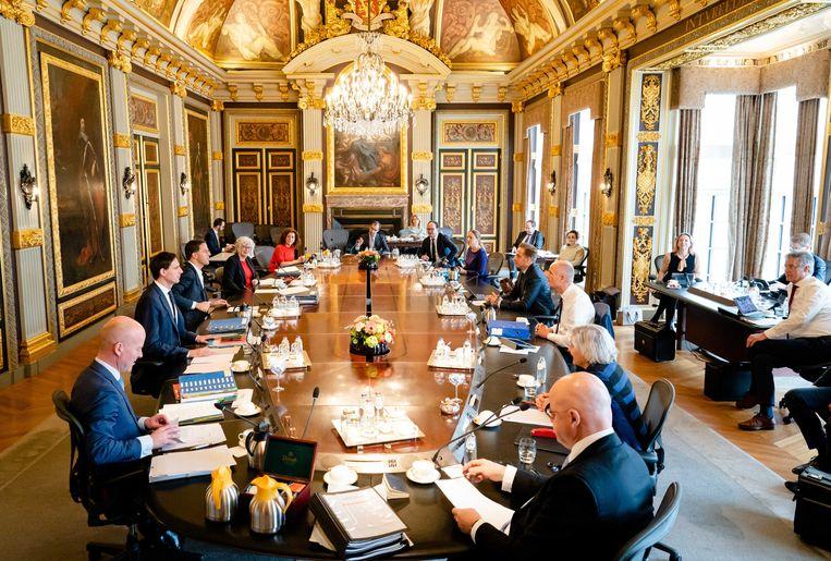Ministers in de Trêveszaal  Beeld EPA