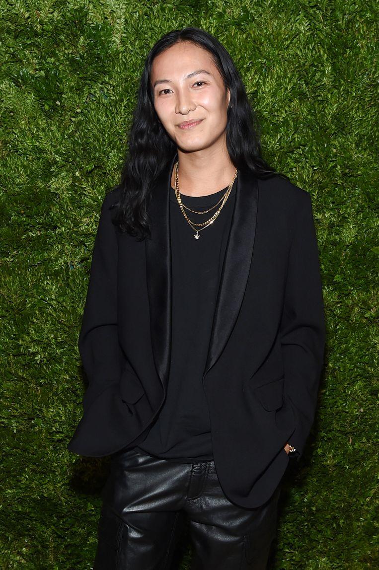 Alexander Wang, darling van de mode, ligt nu onder vuur.  Beeld Getty Images