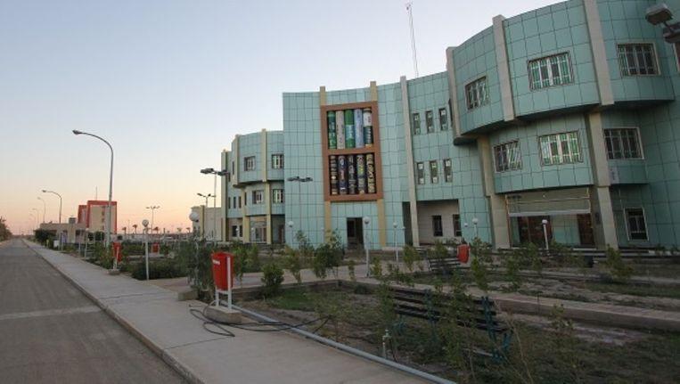 De Universiteit van Anbar in de provinciehoofdstad Ramadi. Beeld Site Anwar University