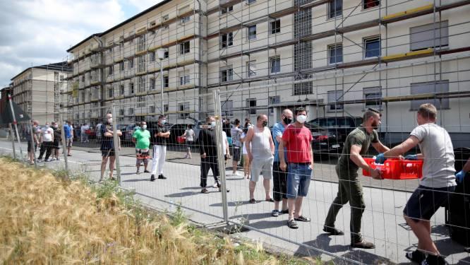 Nu ook tweede Duits district opnieuw in lockdown na corona-uitbraak bij vleesbedrijf: meer dan 600.000 inwoners getroffen