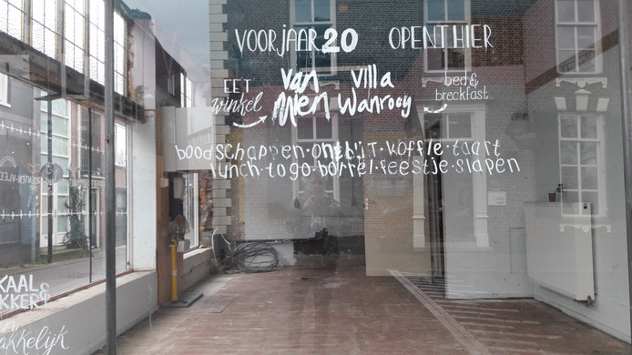 Villa Wanrooy opent in april of mei.