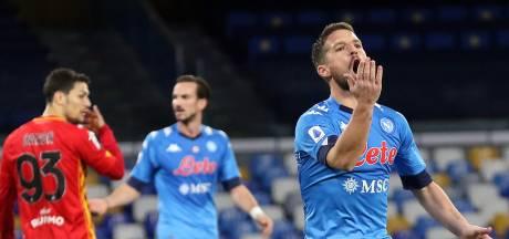 Dries Mertens ouvre la voie, le Napoli se relance