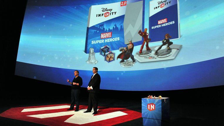 In 2014 werd Disney Infinity 2.0 gelanceerd. Beeld Katy Winn/Invision/AP