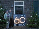 Marie en Louis de Roover 60 jaar getrouwd