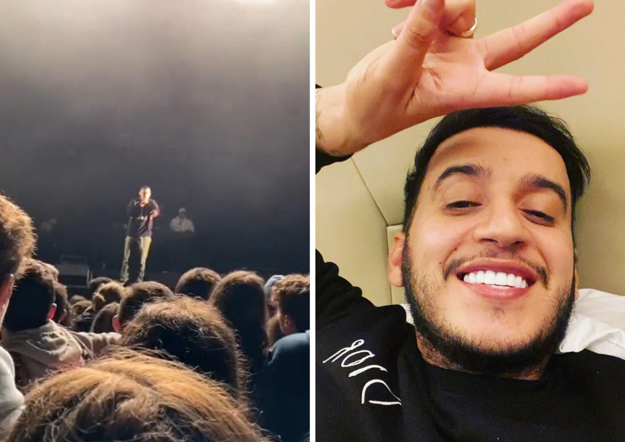 Le rappeur Soso Maness interrompt son concert dans les Landes pour défendre une jeune femme harcelée.