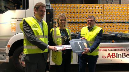 AB InBev gaat vanaf april bier aan steden leveren met de allereerste Belgische e-truck