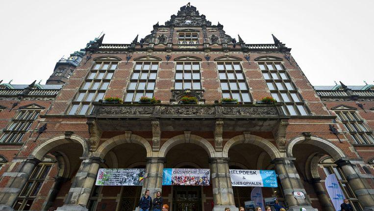 Het Academiegebouw in Groningen. Beeld ANP
